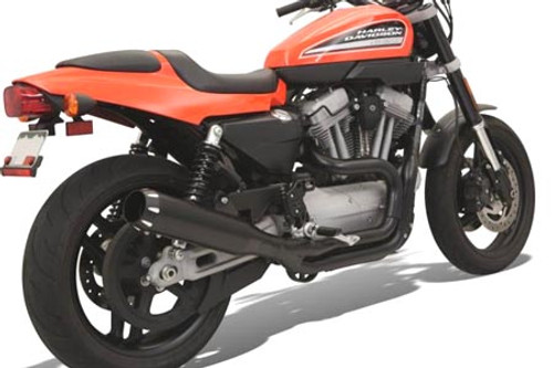 Bassani Road Rage 2-Into-1 System with B1 Muffler for XR1200/1200X  '09-12