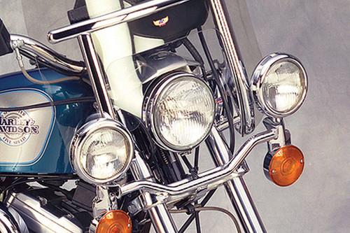 National Cycle Chrome Light Bar for Virago 700/750 '84-98 & Virago 1000/1100 '84-99