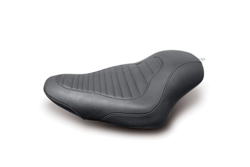 Mustang  Tripper Solo Tuck and Roll Seat for '04-Up Sportster Models w/ 2.1 or  3.3 Gallon Tank
