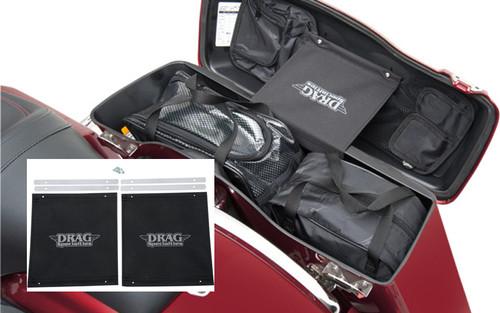 Drag Specialties Saddlebag Lid Tethers for '93-13 FLT/FLHT/FLHR/FLTR/FLHX/FLD-Pair
