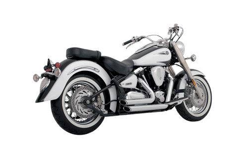 Vance & Hines Staggered Shortshots for Road Star 1600 '99-07