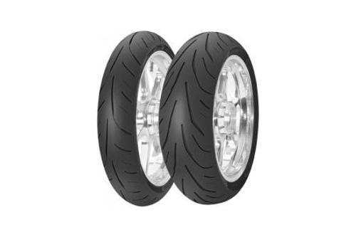 Avon Tires 3D Ultra Sport Radials FRONT  120/60R17  BLK  (58W) -Each