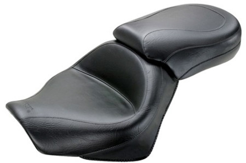 Mustang  Two-Piece Wide Seat  for VT750 Shadow Aero '04-09 & '11-13 -Vintage