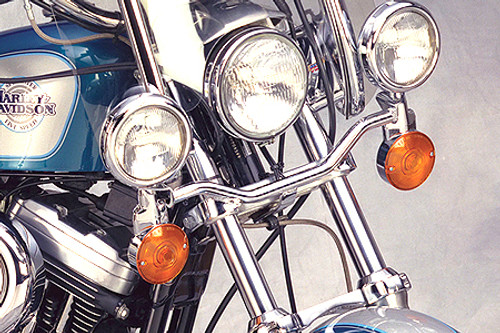 National Cycle Chrome Light Bar for Nomad 1500/1600 '98-04