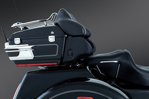 Kuryakyn Rigid Mounted Relocator Kit for '09-13 FL Models w/ King, Ultra or Chopped Tour Pak