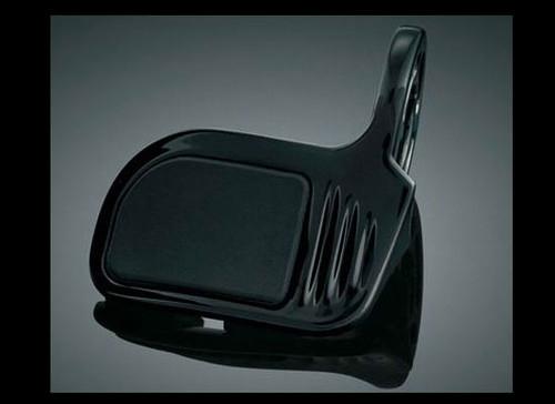 Kuryakyn Gloss Black Contoured ISO-Throttle Boss (ea)  Fits: Heated ISO-Grips for GL1800