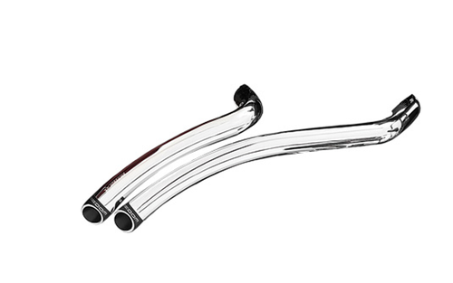 Freedom Performance Exhaust Radical Radius System for '06-17 Dyna Models - Chrome