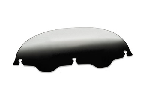 Memphis Shades Replacement Windshield Plastic for Road Glide FLTR '04-Up/FLTRX '10-Up -Gradient Black