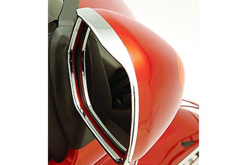 Show Chrome Visored Mirror Trim for GL1800 '01-Up