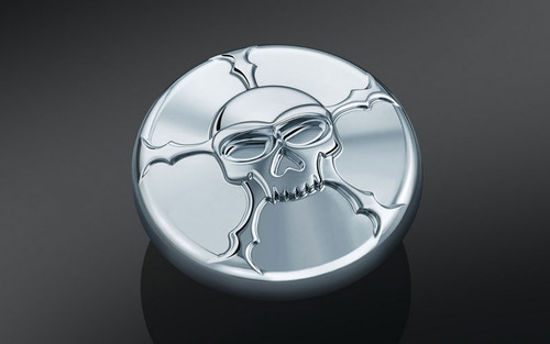 Kuryakyn Zombie Gas Cap for '82 & Up H-D Screw-Type Tanks with Right-Hand Thread