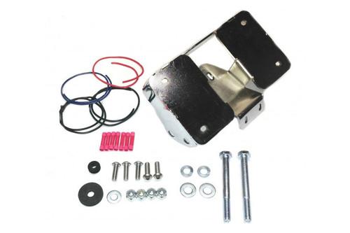 Easy Brackets Turn Signal Relocation Kit  for '11-Up Sportster 1200C Chrome