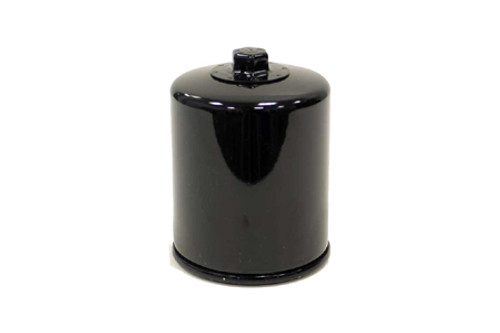 *CLEARANCE* K & N Performance Oil Filters for '80-98 FLT, '82-94 FXR, '84-99 Softail L84-09 XL, all '94-02 Buell Models (except Blast)  Black