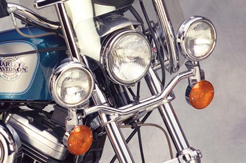 National Cycle Chrome Light Bar for VLX 600 '88-07 & Magna 750 '93-03