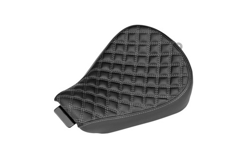 Biltwell Inc. Sporty-8 Seat for '04-06 & 10-Up XL Models -Checker