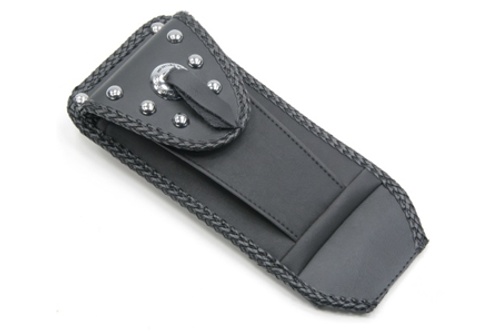 Mustang Tank Bib with Pouch for Softail '00-Up Studded