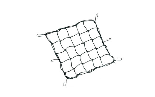 "Drag Specialties Cargo Net with Vinyl Coated Metal Hooks -15"" x 15"" -Each"