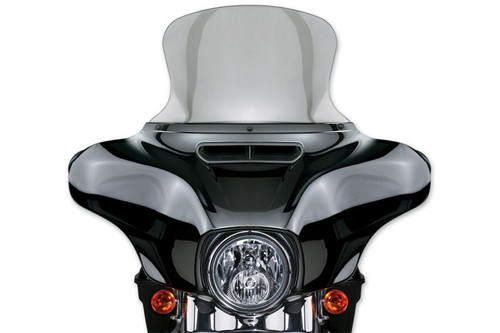 """National Cycle VStream® Tall Touring Replacement Screen for '14-Up Rushmore FLHT/FLHX 14.50"""" Tall Clear"""