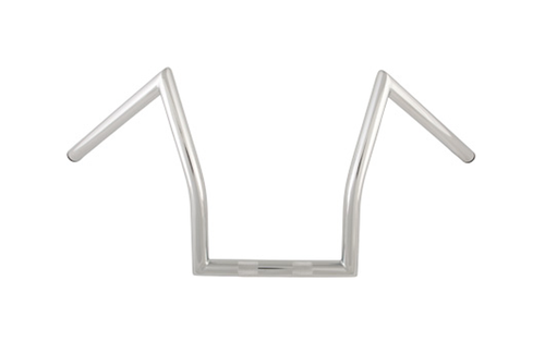 """Hard Drive 1 Inch  Z Handlebars for '81 and Earlier H-D  -Chrome, 11"""""""