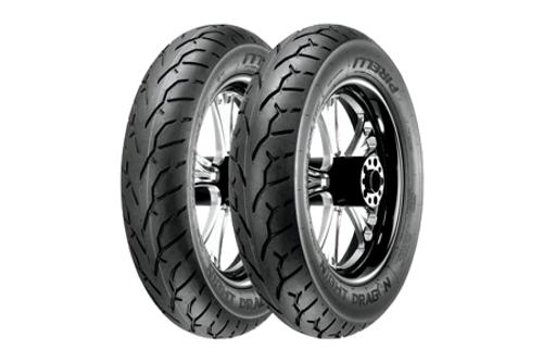 Pirelli Night Dragon Tires REAR 180/70R16 TL  77H (reinforced carcass) -Each