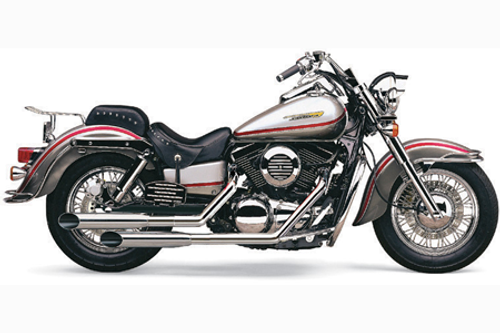 Cobra Deluxe Slash-Cut Exhaust for Vulcan 1500D/E/N/P '96-up