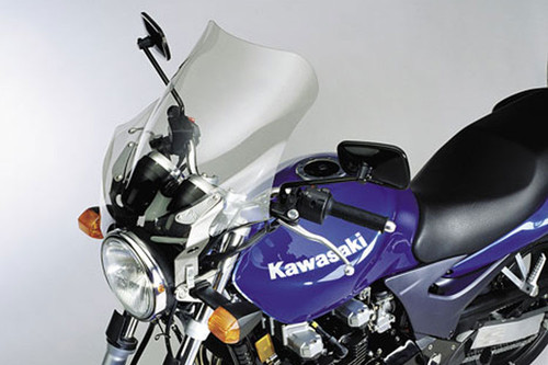 National Cycle F-Series Fairing for Triumph Models - F-15 Touring Light Tint Click for fitment