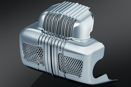 Kuryakyn  Coolant Pump Cover for '14-'15 Twin Cooled Models  -Chrome