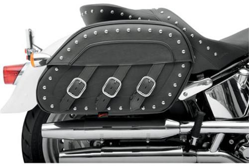 Saddlemen S4 Rigid-Mount Quick-Detach for '84-Up FXST/FLST; (except FXSTD/FLSTF/FLSTN/FLSTB w/ OEM High Exhaust -Desperado