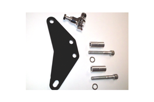 Freedom Performance Offset Peg Mount for use with Freedom Performance Sharp Curve Radius  Exhaust for Sportsters