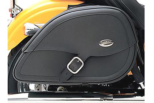 Saddlemen Rigid-Mount Specific-Fit Teardrop Saddlebags for Vulcan 900 '06-Up Drifter