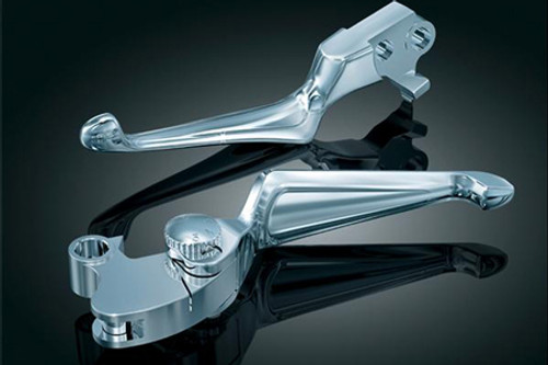 Kuryakyn Boss Blades w/ Adjustable Clutch Lever for '96-17 H-D Models with Cable Operated Clutch
