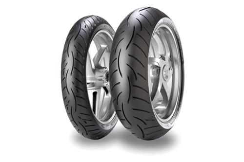 Metzeler Roadtec Z8 Sport Touring Tires-FRONT 120/70ZR-17 TL (58W) -Each