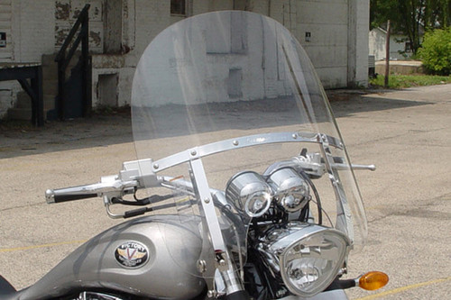 National Cycle SwitchBlade Windshield for Hammer/S '05-13 & Kingpin '04-13 - Two-Up Style
