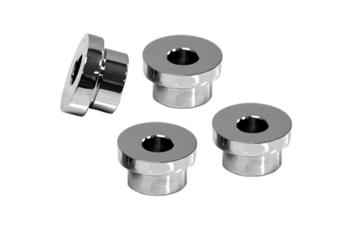 L.A. Choppers Triple Tree Riser Angle Adapters for Dyna, Sportster & Softails Kit