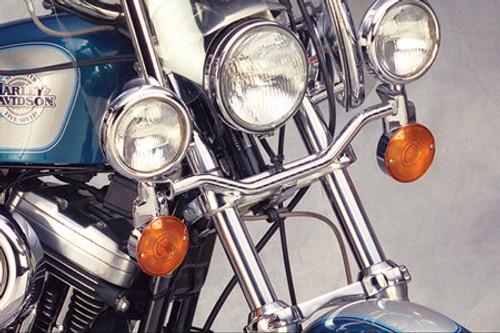 National Cycle Chrome Light Bar for Spirit 1100  '97-07