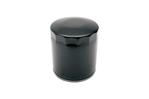 Drag Specialties Spin On Oil Filter for '84-99 FLT; '84-94 FXR; '84-99 FXST; L84-11 XL; '09-11 XR1200 Repl. OEM#'s 63796-77A, 63805-83 & 63805-80A -Black