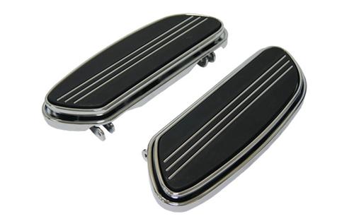 Hard Drive Floorboard Kit for '84-Up FLT & '86-Up FLST -Sweeper Style