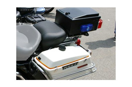 Mustang  13.5 inch Air Ride Rear Seat  for FL Police Models '97-Up  -Textured