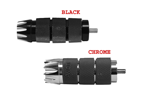 "Avon Shifter/Brake Peg for all H-D models w/ 5/16""-24 Threaded Shift/brake Pegs -Air Cushioned Excalibur"