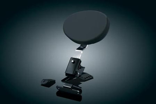 Kuryakyn Driver Backrest for '97-Up Touring Models with One-Piece Slotted Seats