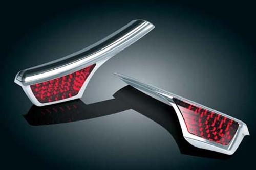 Kuryakyn Passenger Armrest Trim All '06-16 Honda GL1800 Models
