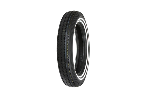 Shinko Motorcycle Tires 240 Classic FRONT MT90-16   74 -Double Whitewall, Each