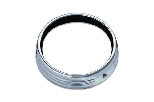 "Kuryakyn Chrome Trim Ring for 7"" Headlight (ea)  Fits: '14-16 Electra Glides, Street Glides & Tri-Glides"