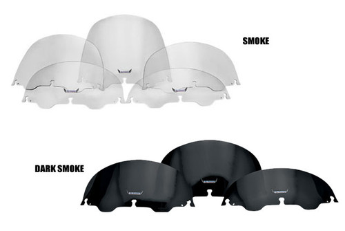 Slipstreamer Replacement Windshields for '96-13 FLHT Models -16 inch