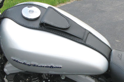 Mustang Tank Bib with Pouch for Sportster '04-Up (4.5 gallon tank)