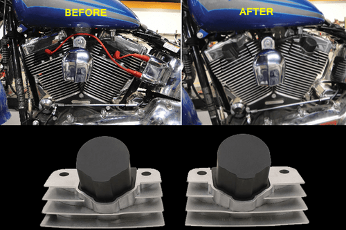 Accel Stealth Supercoil for '09-16 Fuel Injected FL, '01-17 Softail & '06-17 Dyna Models - Black