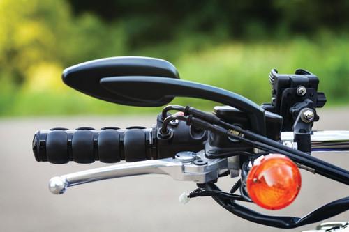 Kuryakyn Iso Grip for Honda & Triumph Models Click for Fitment Gloss Black