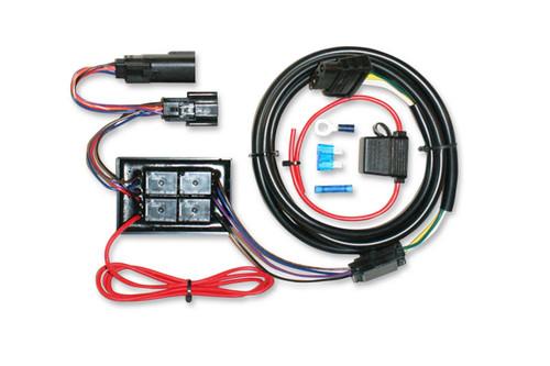 Khrome Werks  Plug N' Play Trailer Wiring Kit  for '10-13 FLHX,FLTRXW/ 6-Pin Molex Rear Light Plugs