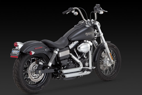 Vance & Hines Shortshots Staggered  for Dyna '12-17 Will Not Fit Switchback Model