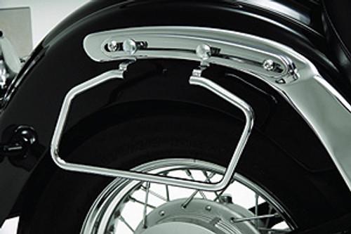 Show Chrome Saddlebag Stays for V-Star 650 & Road Stars ONLY! Adjustable