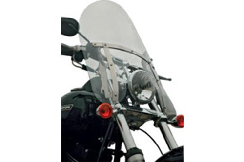 "Klock Werks Flare Billboard Windshield for '93-05 FXDWG, '86-Up FXST/FXSTC/FXSTB'85-86 FXWG  w/ OEM Windshield -Tint (17-3/8"" Tall)"